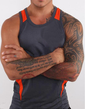 ZOGAA Fitness Clothing Men Gym Vest Sleeveless Top Body Suit Tank