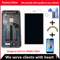 AAA Quality! Original LCD + New Frame For MEIZU MX4 Lcd Display Screen Replacement For MEIZU MX4 Digiziter Aseembly