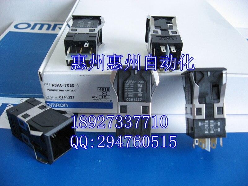 все цены на  [ZOB] New original authentic OMRON Omron button switches A3PA-7030-1  --5PCS/LOT  онлайн