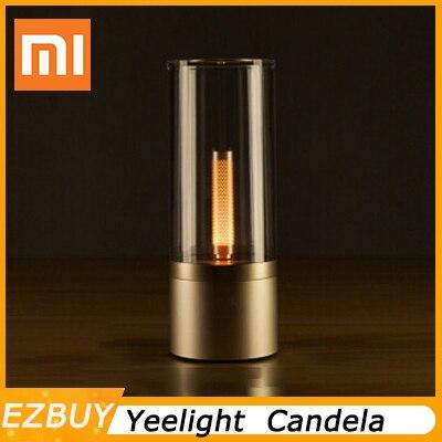 Original xiaomi YEELIGHT mi jia Candela contrôle intelligent led veilleuse, lumière d'ambiance pour mi maison app xiaomi kits de maison intelligente