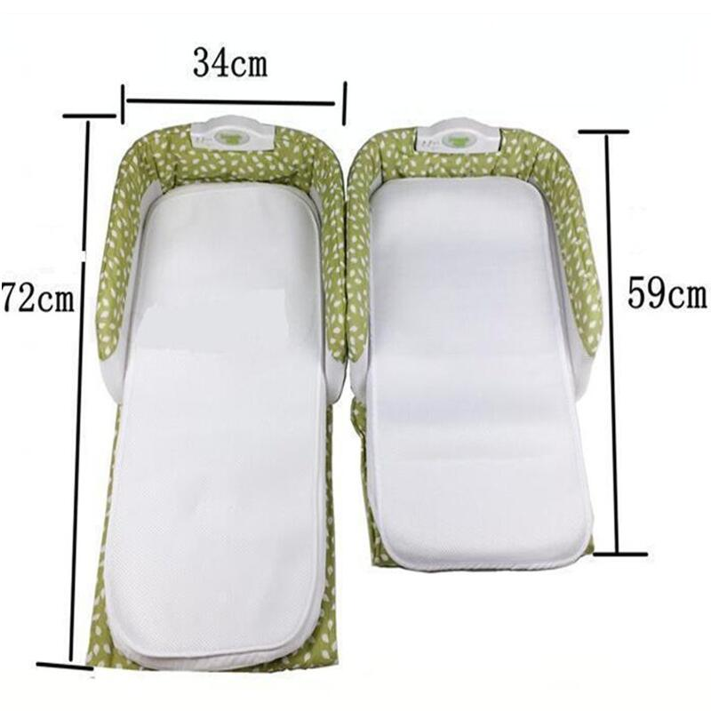 2017 0-12 Months Baby Safety Isolation Beds Baby Crib for Newborns Portable Foldable Baby Cradle Bed Outdoor Travel Folding Bed