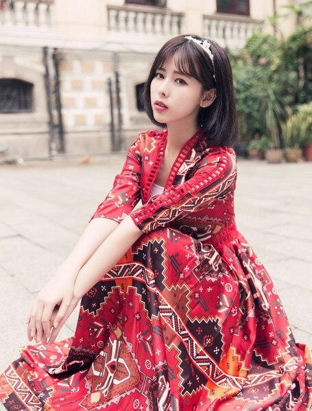 Непал платье