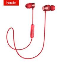 HAVIT Bluetooth наушники V4.2 IPX5 влагонепроницаемые спортивные наушники Водонепроницаемый Bluetooth стерео наушники с микрофоном I39