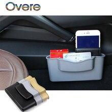 Overe 1 шт. автомобильный ящик для хранения Авто сиденья для Fiat Punto 500 Volkswagen VW Polo Passat B7 B8 Golf 5 6 7 Touran T5 Tiguan Bora