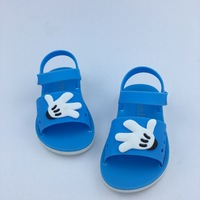 2018 Summer Children's Boys And Girls Bump Their Palm To Breathe Baby Shoes Students Sandals Size 24 29 #2