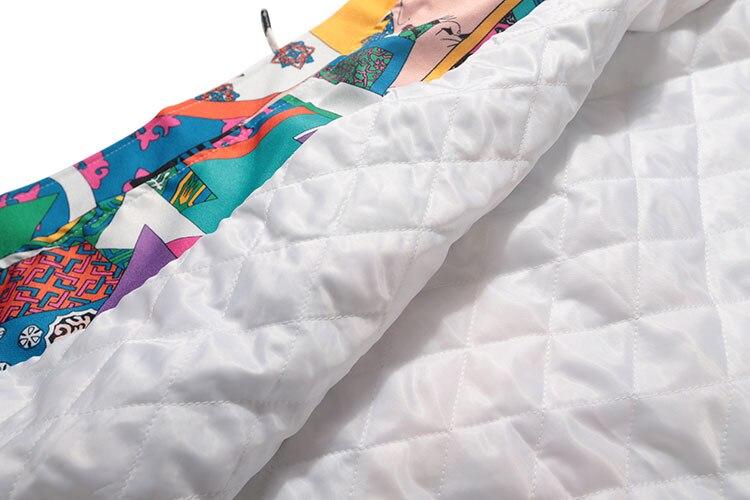 Japanese Ukiyo E Style Color Block Patchwork Jacket 9