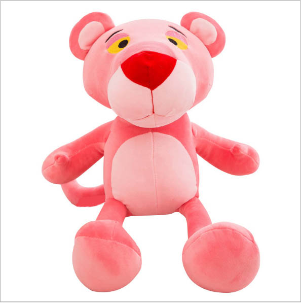 Doll Soft Plush Toys For Children  Pink PantherSleeping Mate Stuffed &Plush Animal Baby Toys For Infants 27cm Cute Pink Panther