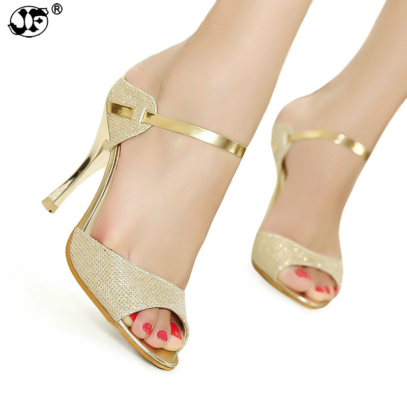 456 Peep Toe Women Pumps High Heel Shoes Gold Silver Women Heel Shoes Fashion Thin Heels Sandals Summer Women Shoes fashion women pumps gladiator peep toe women high heels shoes women casual thin heel buckle strap summer high heel pumps