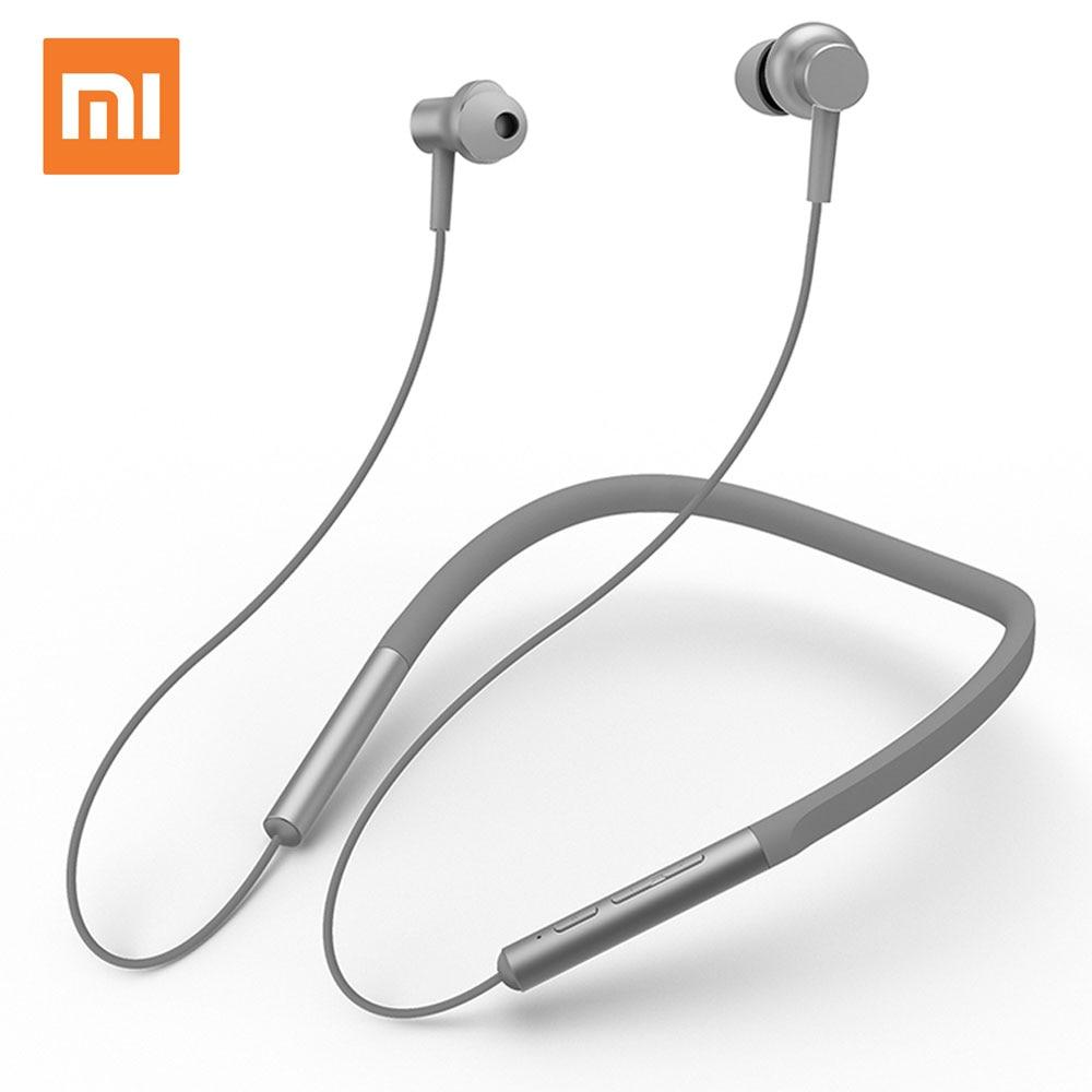 Original Xiaomi Bluetooth Collar Earphone Sport Fashion In-Ear Magnetic Wireless Earbuds Headphones with Mic Aptx 8 Hours Play цена и фото