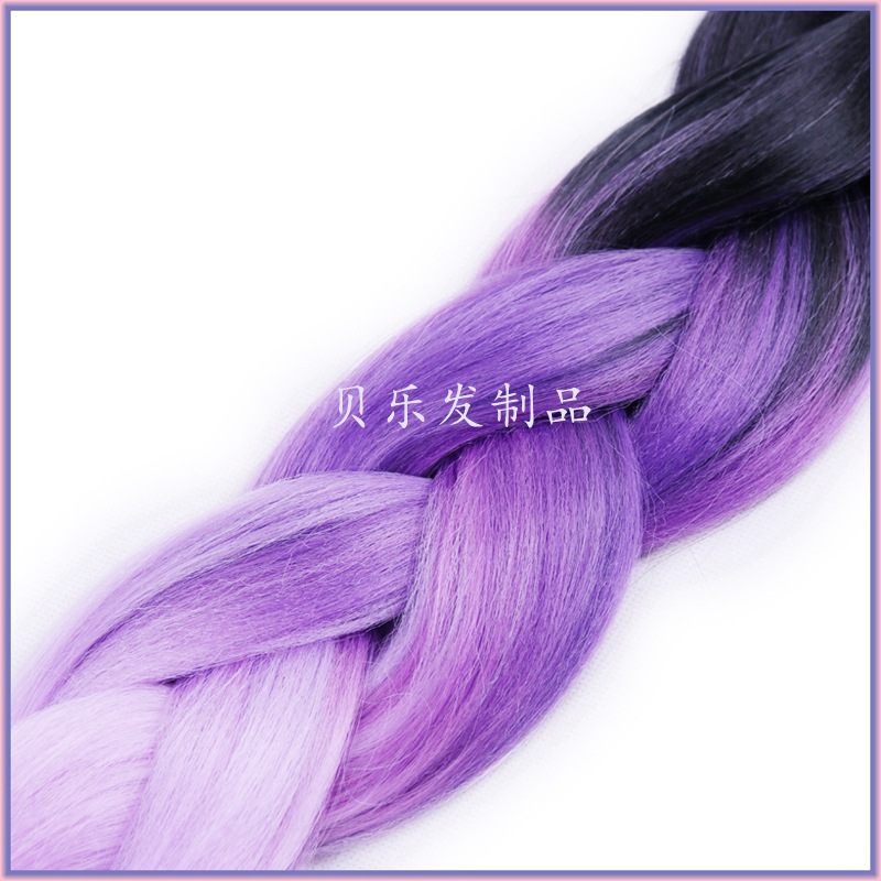 Black Light Purple Dark Ombre Jumbo Braiding Hair Afro African Synthetic Styles Dreadlock Extensions On Aliexpress Alibaba