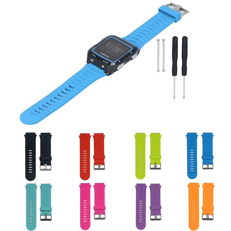 Essidi Rubber Watch Band Strap Tool Kit For Garmin Forerunner 920XT Quick Release Watch Strap Pin Buckle For Garmin Forerunner image