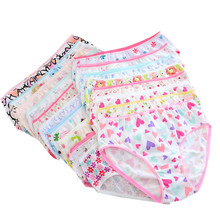12pcs/Lot Girls Cotton Panties Briefs Gifts Children Underwear Cartoon briefs  Underpants 1-2Y gTNN0001