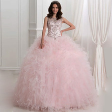 Moon Talee Shining sleeveless quinceanera dress ball gown