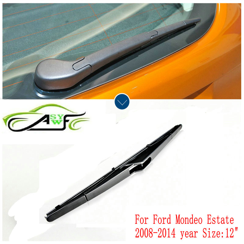 Car rear wiper blades For Ford Mondeo Estate (2008-2014) Soft Rubber WindShield Wiper Blade Size 12 305mm