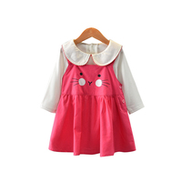 New 2018 Spring Baby Girl Blouses Kids Shirts Children Shirt Casual Clothing Child Girls Clothes Wear