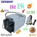 Nieuwe bitcoin miner Ebit E9i 13.5 T SHA256 Asic mijnwerker Met PSU BTC BCH mijnbouw Beter dan E10 antminer S9 s11 S15 T15 B7 M10 M3x T3