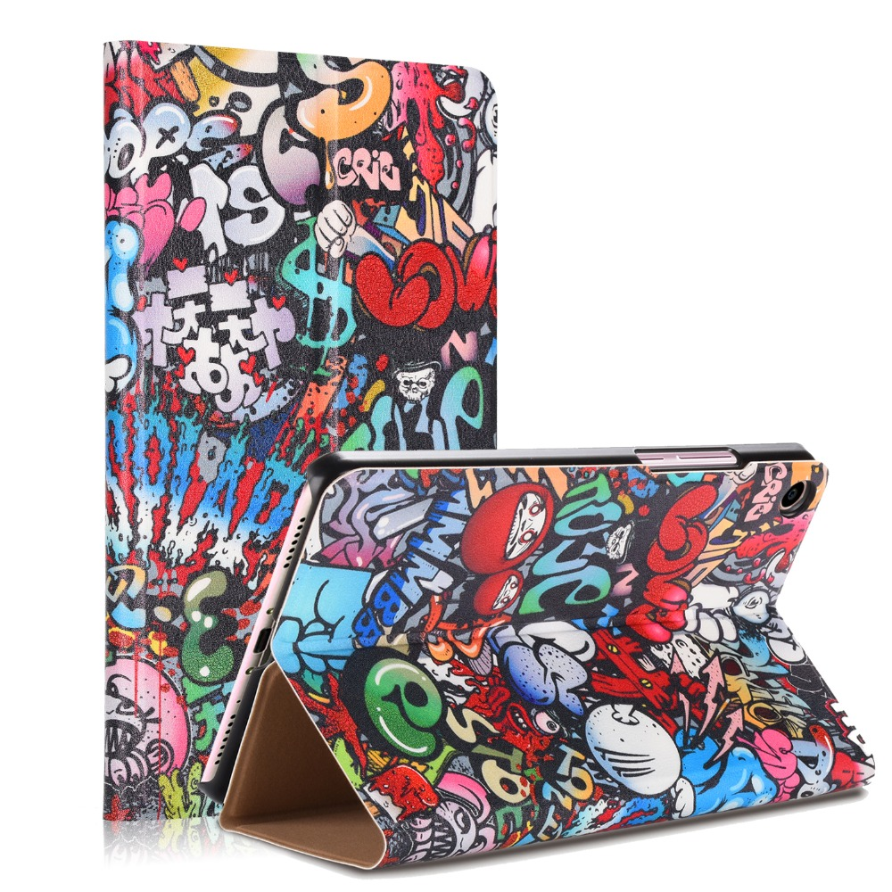 PU Leather Stand Cover For Xiaomi Mi Pad 4 8.0 inch Tablet PC Smart Case for xiao mi mipad4 funda cover cases ynmiwei miix 320 tablet case for lenovo ideapad miix 320 leather case stand holder lichee pattern miix320 cover cases