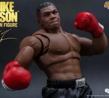 19cm Mike Tyson Boxing champion Action figure toys doll collection Christmas gift with box
