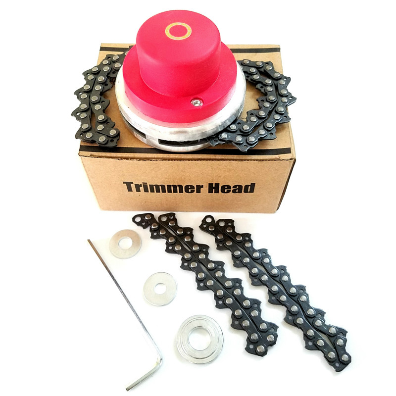 Universal Trimmer Head Coil Chain Brushcutter Garden Grass Trimmer With Thickening Chain For Lawn Mower Garden Tools Part