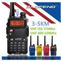 Baofeng uv-5r walkie taklie transceptor 5 w vhf uhf de doble banda 136-174/400-520 mhz radio de dos vías baofeng uv 5r radio comunicador