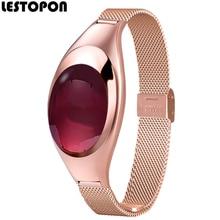 Lestopon смарт-браслет SmartBand браслет с кровью Давление монитор сердечного ритма шагомер фитнес-трекер для iOS и Android