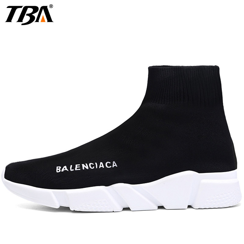 TBA Fall2017 Lovers Socks Sports Run Athletic Shoes For Men Breathable Running Shoes Women Brand Outdoor Jogging Men's Sneakers do dower men running shoes lace up sports shoes lovers yeezys air outdoor breathable 350 boost sport sneakers women hot sale