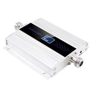 Image 2 - Ledディスプレイのgsm 900リピータ2グラム3グラム4グラムcelular携帯電話の信号リピータブースター、900 mhzのgsmアンプ + 八木アンテナ
