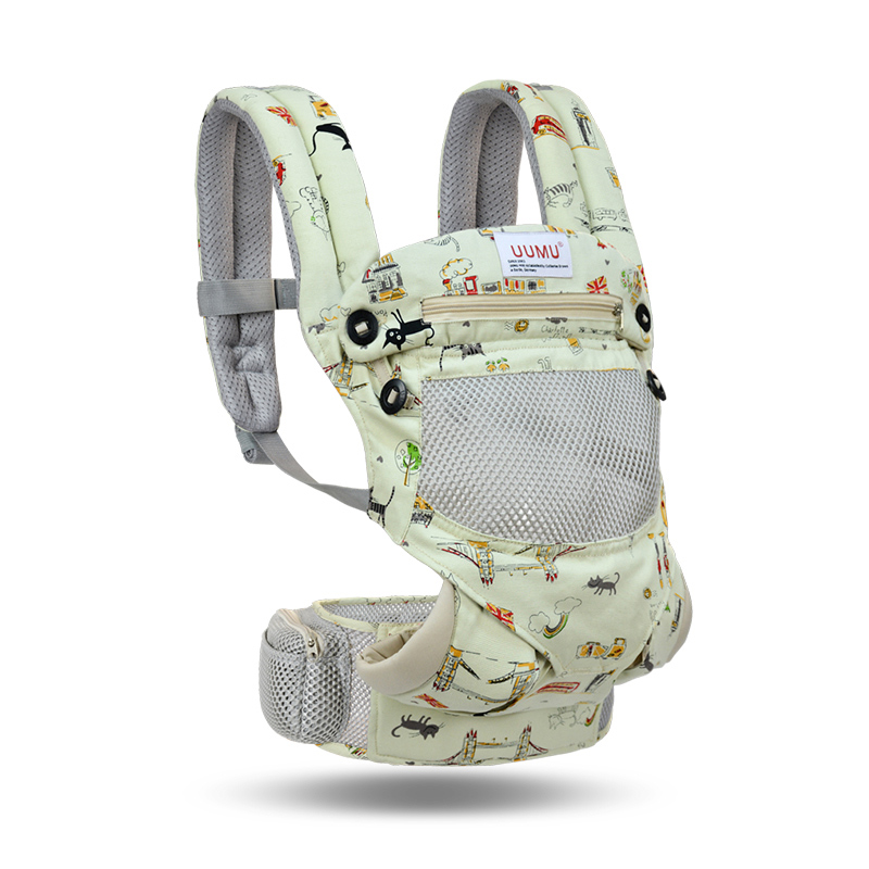 Suspenders Ergonomic Baby-Carrier Sling-Wrap Hipseat Waist-Stool-Backpack Front-Facing