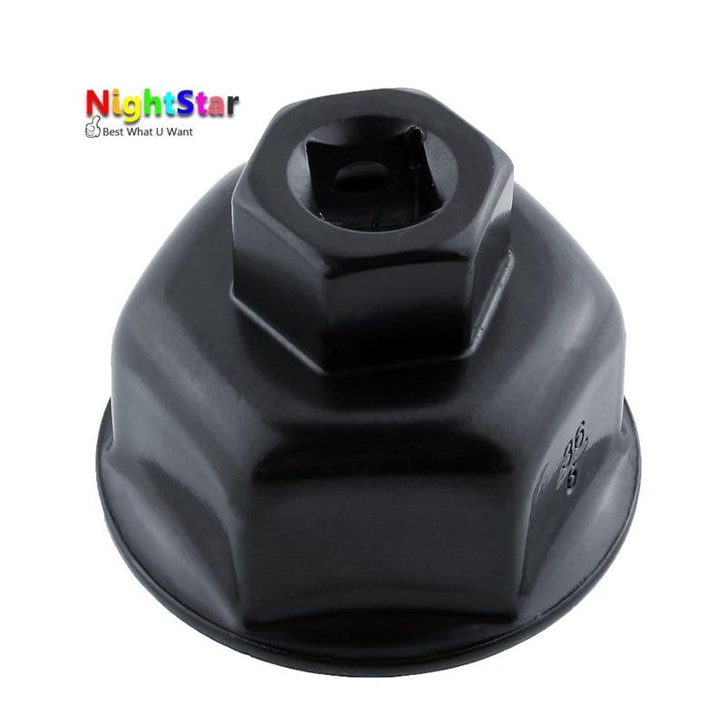 36mm hylsnyckel auto bil oljefilter skiftnyckel socket remover - Handverktyg - Foto 3