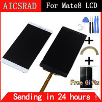 High Quality New LCD Display Digitizer Touch Screen Glass Assembly For Huawei Mate8 Mate 8 Cell