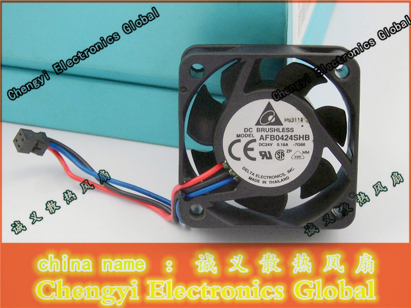 Good Quality Original Delta inverter Cooling fan 4CM 4015 24V 0.18A AFB0424SHB *Quality Assurance* Cooling Fan royal fan ut626dg tp 16cm220v 5w inverter cooling fan