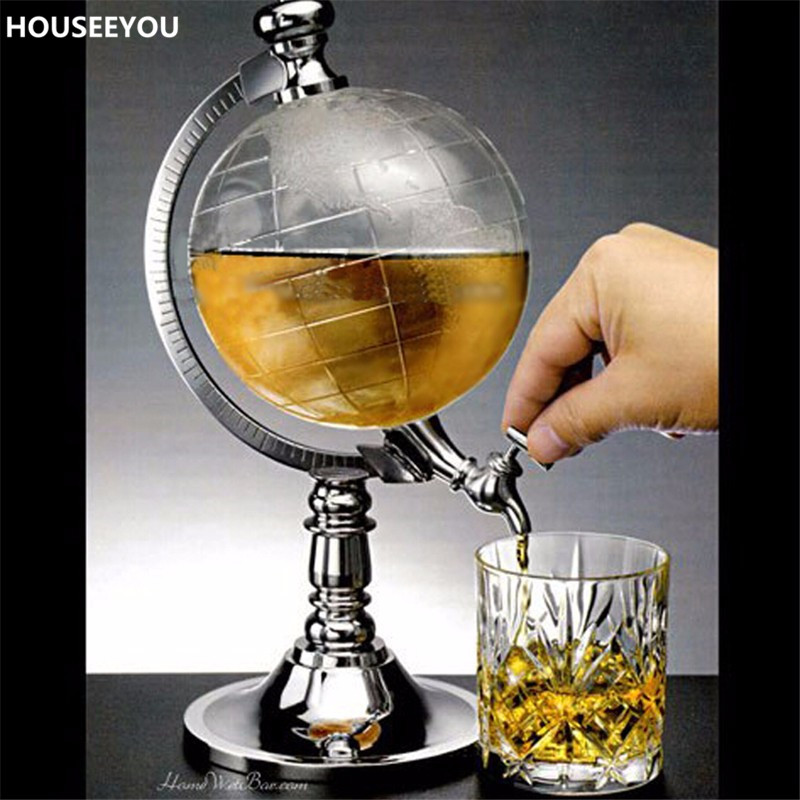 creative 1000ml crystal wine decanters wine carafe water jug dispenser container barware drinking tool bar accessories suppliesin decanters from home - Water Jug Dispenser