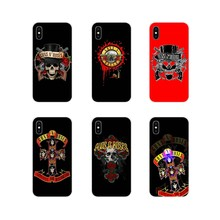 Accessories Phone Cases Covers Mobile Pouch Guns N Roses For Huawei P Smart Mate Honor 7A 7C 8C 8X 9 P10 P20 Lite Pro Plus(China)