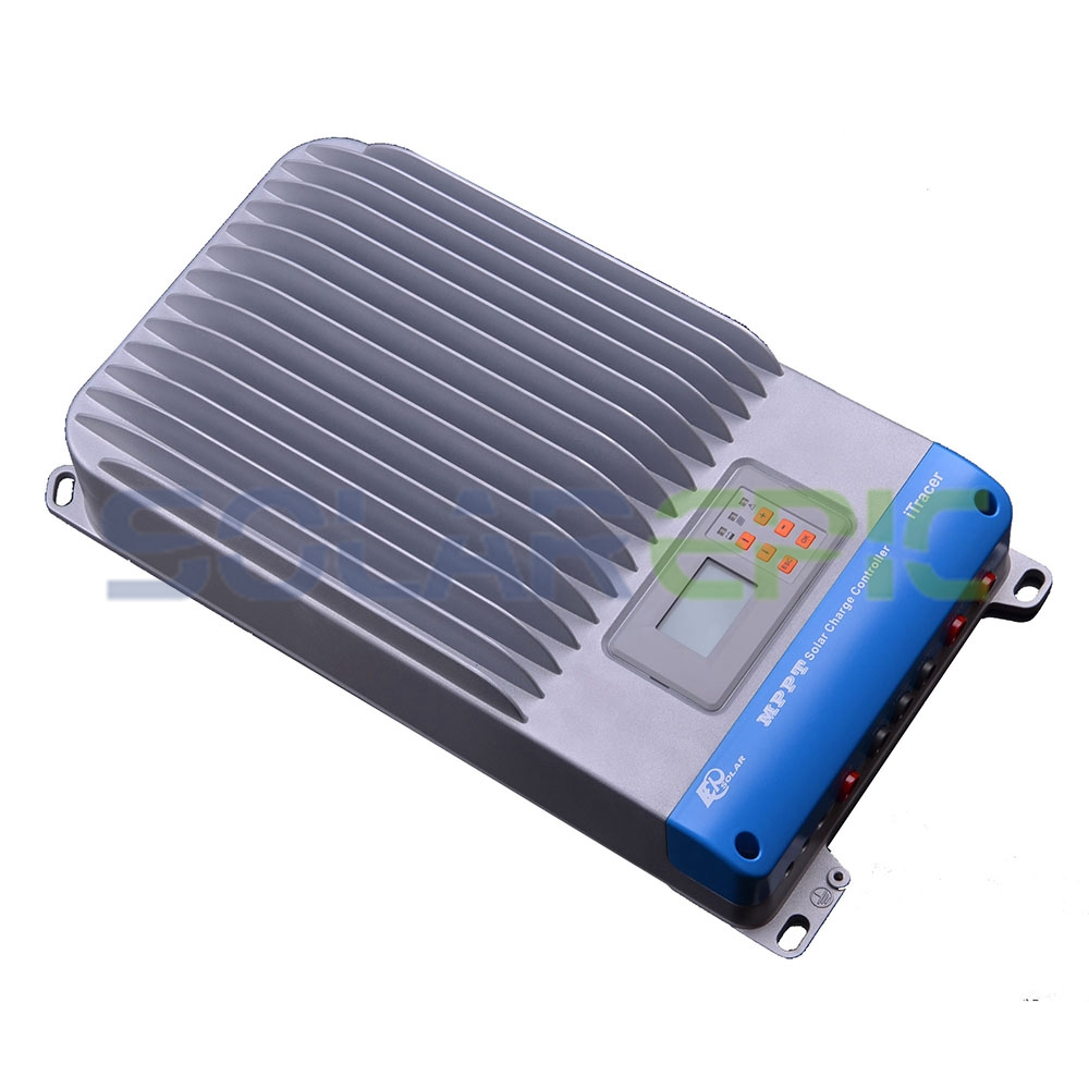 EPSOLAR 60A MPPT Solar Charge Controller 12V/24V/36V/48V DC Auto Solar Panel Charger Regulator Max 150V PV Input Battery Charger 40a mppt solar charge controller 12v 24v dc auto with lcd display panel charger regulator usb 5v 3a output max pv input 150v