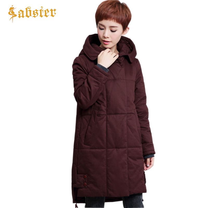 2017 Winter Coat Women Parka Long Womens Outerwear Coats Thick Hooded Warm Ladies Jackets and Coats Plus Size M-4XL womens winter jackets coats 2017 high quality thick warm cotton padded hooded outerwear women parkas plus size 5xl winter coat
