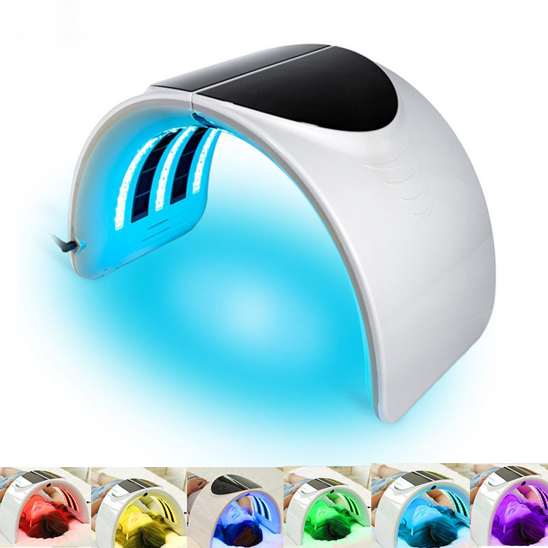 7 Color PDT LED Light Therapy Mask Skin Rejuvenation Acne Remover Anti-wrinkle Aging Skin Care Beauty Machine LED Facial Mask