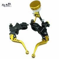 7 8 For For Honda CBR600RR CBR 600RR 2007 2016 Motorcycle Master Cylinder Reservoir Brake Clutch