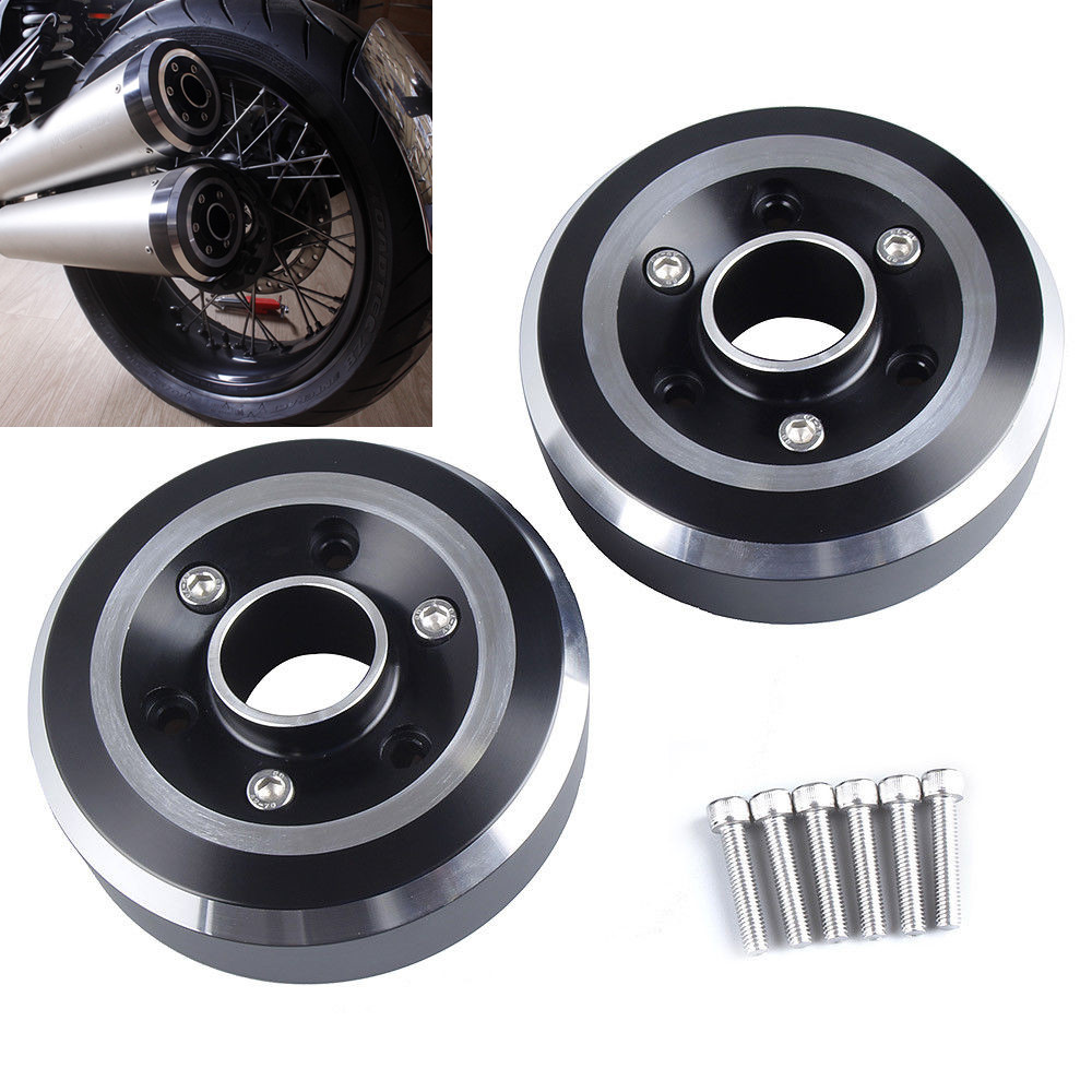 LJBKOALL R NINE T Exhaust CAP for BMW R NINE T 2014 2015 2016 Motorcycle Exhaust Muffler Tips End CAP Tail Cover CNC Aluminum свитер женский r t w rtwm23817e rtw 2014 rtwm23817