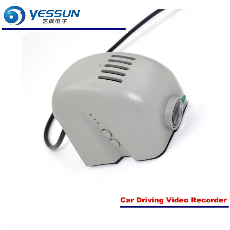 YESSUN Car Front Camera For Audi A3 2015 DVR Driving Video Recorder Black Box Dash Cam Phone APP Plug Play OEM 1080P WIFI yessun car dvr driving video recorder for volkswagen passat cc front camera black box dash cam plug oem 1080p wifi phone app