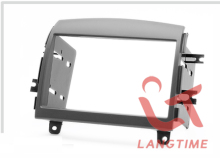 Free shipping-car refitting dvd frame/front bezel/audio panel for 06 HYUNDAI SONATA,2DIN