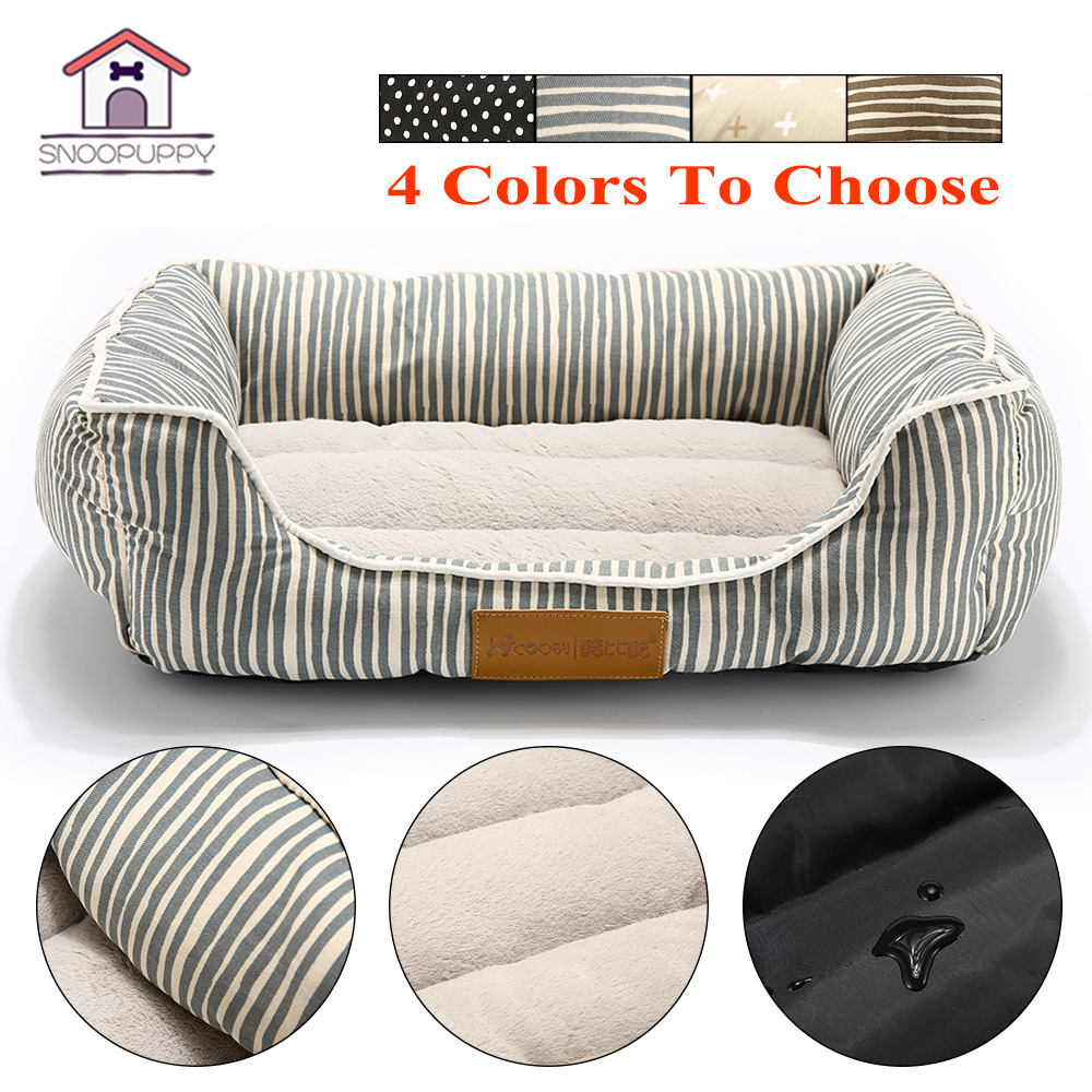 Pet Bed For Dogs Bench Soft Cats Lounger For Pet Hand Wash Dog Bed For Cats Durable Bench Chihuahua Pets Large Dog Beds Coo043