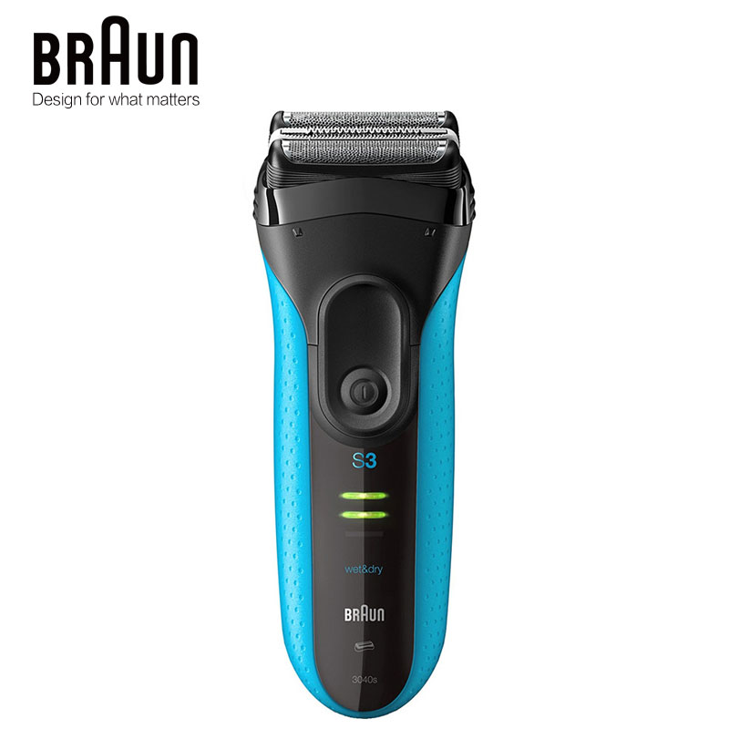 Authentic Braun Series 3 Electric Shavers 3040S Wet Dry Shaver Reciprocating Razor