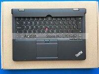 Новый оригинальный Lenovo ThinkPad X1 Helix 2nd 2 20cg 20ch Ultrabook Pro Клавиатура ЕС с подсветкой Батарея palmrest База дно