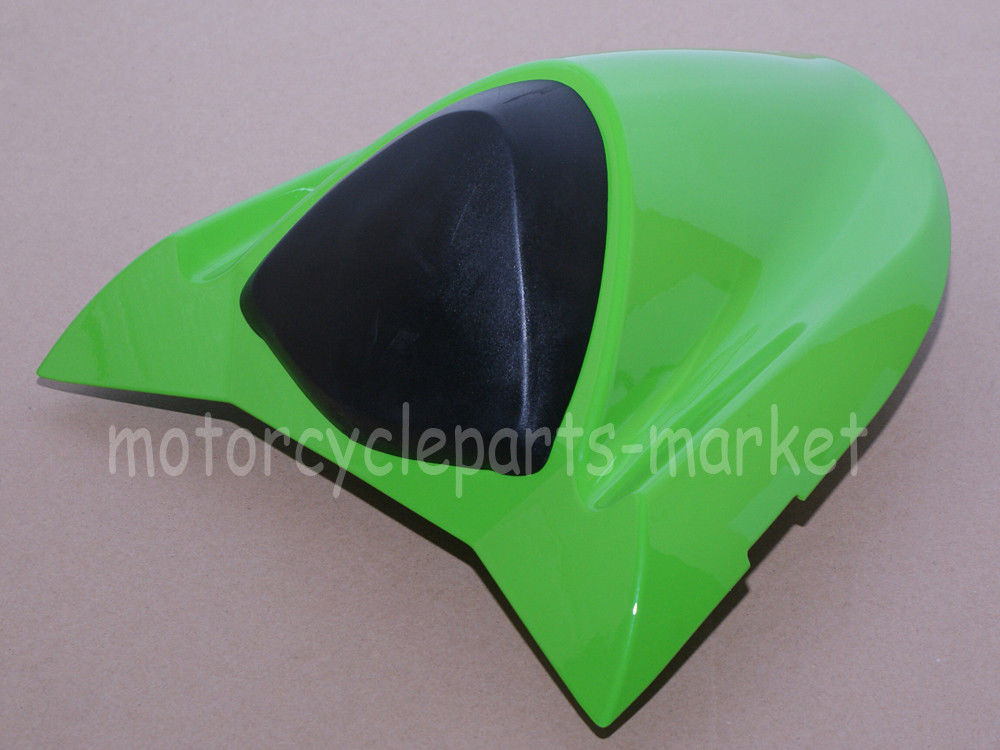 Motorcycle Green Rear Seat Cover Cowl case for Kawasaki Ninja ZX10R ZX-10R 2004-2005