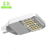 Solar Street Light Led 30w Lamp Ip65 Meanwell Power Ac90-305v Dc127-431v Cree Chips Color Temperature Customizable Ce Rohs