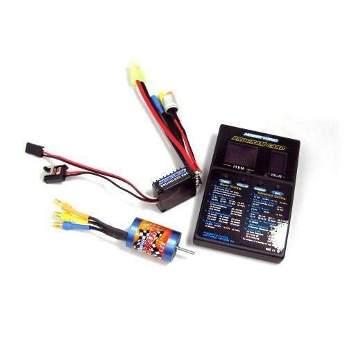 Hobbywing eZrun 25A-V2-L ESC + 12T 7800KV Brushless Motor + Program Card free shipping with tracking hobbywing ezrun max8 v3 t trx plug waterproof 150a esc brushless esc 4274 2200kv motor led program card for 1 8 rc car crawler