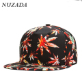 Brands NUZADA Men Women Baseball Caps 3D Printing Landscape Snapback Hip Hop Cap Sports Hats Bone Fantasy Leaf Pattern jt-103