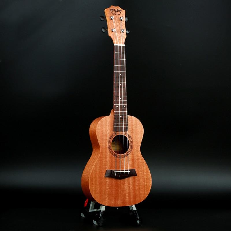 21 pouces 15 frettes acajou Soprano ukulélé guitare Uke Sapele palissandre 4 cordes guitare hawaïenne Instruments de musique pour débutants