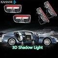 2 UNIDS LED Lámpara de Cortesía Bienvenido Logo Sombra Luz Del Proyector para VW Passat B6 B7 CC Golf 6 7 Jetta MK5 MK6 Tiguan Scirocco