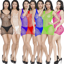 European and American womens sexy lingerie lace openwork pattern socks tights mesh